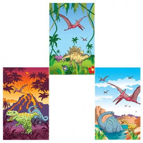 Minilibreta de dinosaurios