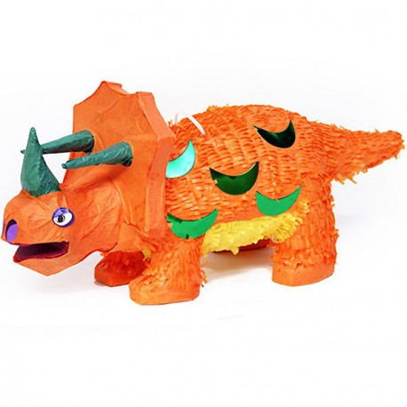 Piñata para fiesta iinfantil de Triceratops