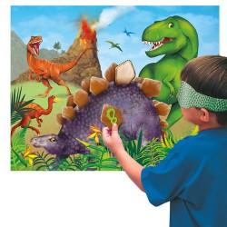 Juego para fiesta dinosaurios