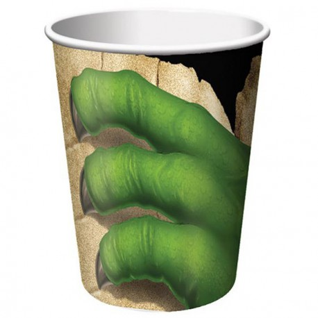 Vaso de garra de dinosaurio