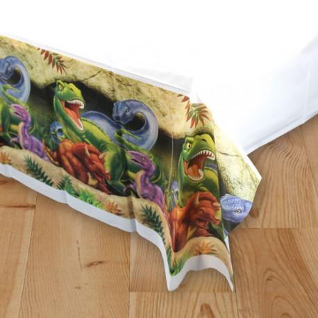 Mantel de plastico de dinosaurios variado