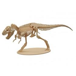 Maqueta de dinosaurio T-rex 48 cm x 15 cm x 16 cm