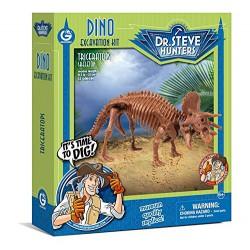 Dino Excavacion Kit Triceratops Geoworld