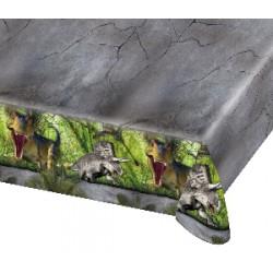 Mantel para fiesta de dinosaurios