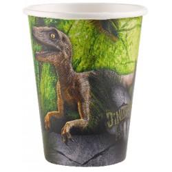 Vaso de 266 ml dinosaurios