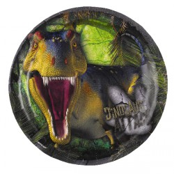 Platos de fiesta de dinosaurios Attack