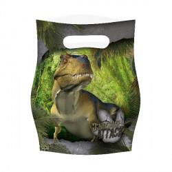 Bolsitas de fiesta de dinosaurios