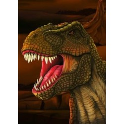 Impresion en 3D de T- Rex magnetico