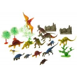 Cubo de dinosaurios  23 piezas Wild Republic