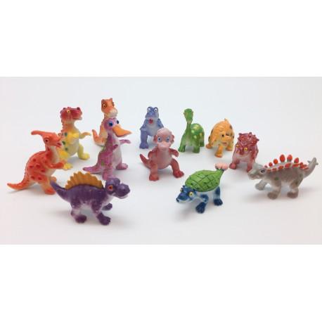 Coleccion Dinosaurios infantiles 12 piezas