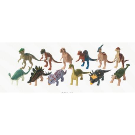 Pack 12 figuras de dinosaurios de 12 cm Wild Republic