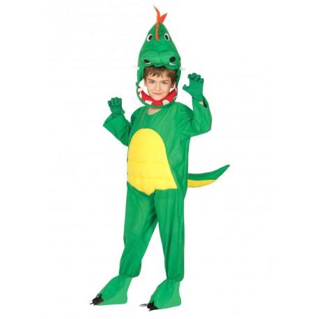 Disfraz de dinosaurio Basic infantil