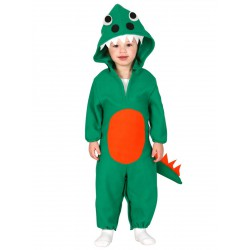 Disfraz de dinosaurio feroz para bebe 6-12 meses