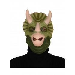 Mascara de triceratops fiestero