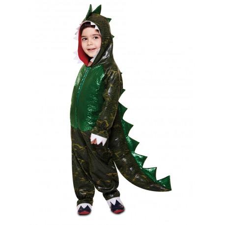Disfraz de T-Rex brillante para niño
