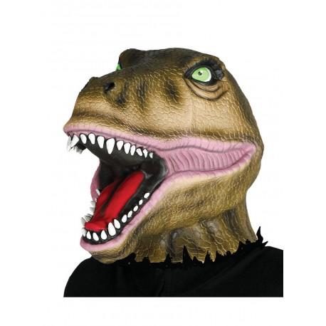 Mascara de dinosaurio salvaje para adulto
