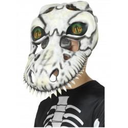 Mascara de calavera de T-Rex infantil