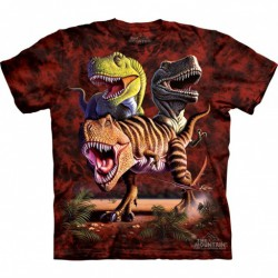 Camiseta Niño The Mountain T-rex Collage