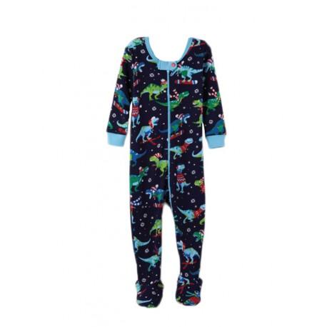Pijama T-Rex Invierno de una piezas Hatley