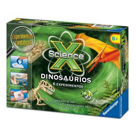 Juego cientifico de dinosaurios