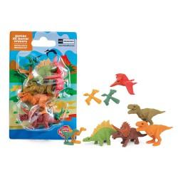 Gomas de borrar de dinosaurios