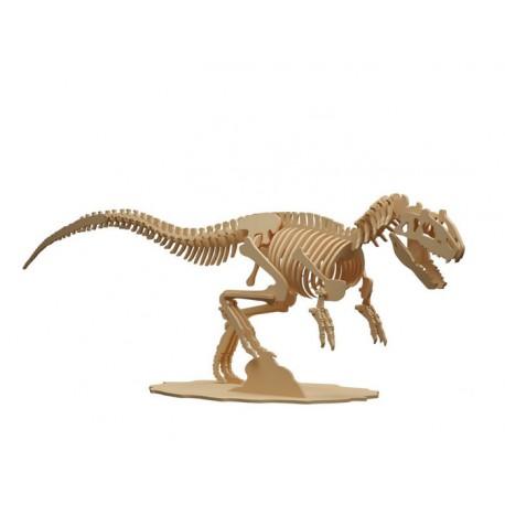 Maqueta de dinosaurio Alosaurio 48 cm x 17 cm x 31 cm
