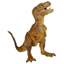 Cria T-Rex verde o marron  Papo