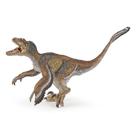 Velociraptor con plumas Papo