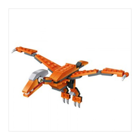 Bloques de construccion Mini Dinosaurio Pterodactilo