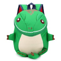 Mochila dinosaurio verde