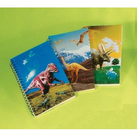 Cuaderno de dinosaurios