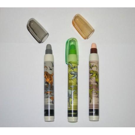 Gomas de borrar en tubo
