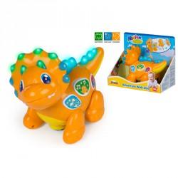 Dino Triceratops Luz y sonido