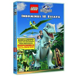LEGO JURASSIC WORLD: INDOMINUS SE ESCAPA