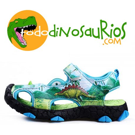 Dinosoles Sandalia Animation Stegosaurio