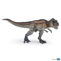 Tyrannosaurus Rex marron corriendo Papo
