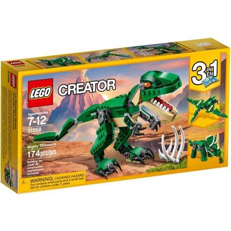 Grandes dinosaurios de marca Lego