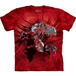 Camiseta Niño The Mountain Red Ripper T-rex