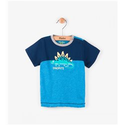 Hatley Camiseta para Bebe Dinosaurio
