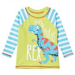 Hatley Camiseta manga larga con protector solar T-Rex