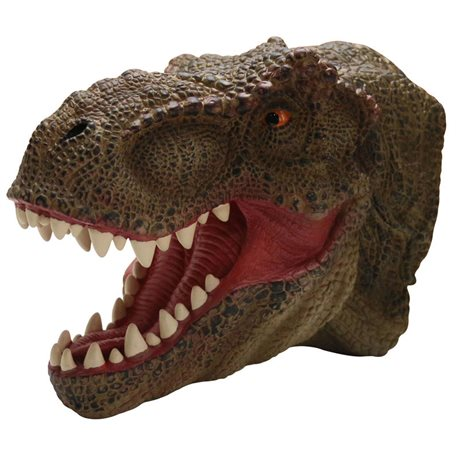 Marioneta T-rex de goma muy realista