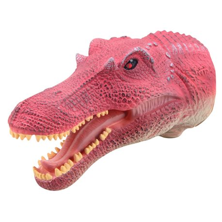 Marioneta Spinosaurio de goma muy realista