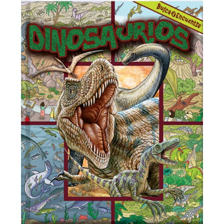 Busca y Encuentra Dinosuarios