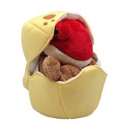 Marioneta de peluche en huevo T-rex