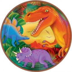 Plato de fiesta T-rex