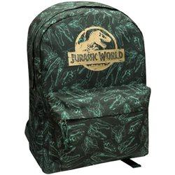 Mochila de dinosaurios Jurassic World verde