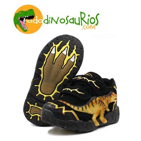 Zapatillas de Dinosaurio Tiranosaurio con luz
