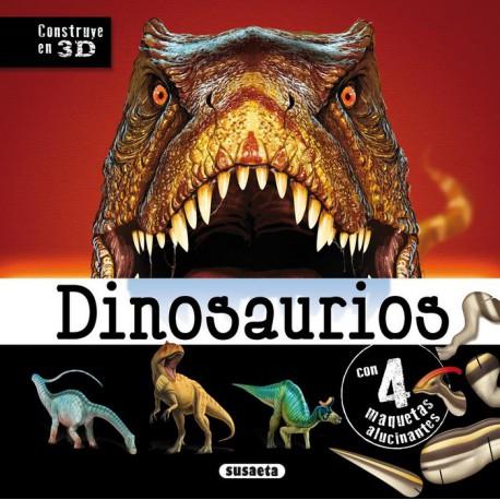 Construye en 3D 4 Maquetas de Dinosaurios