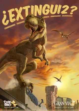 Dinosaurios CC Gran Vía