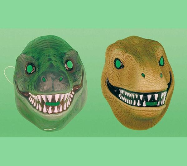Caretas De Dinosaurios Goma Espuma Marca Tododinosaurios Pictures